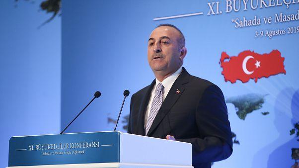 Τσαβούσογλου: «Όλα τα μέρη θα πρέπει να συνεργασθούν στην Αν.Μεσόγειο»