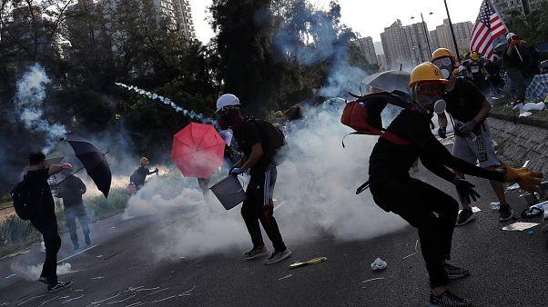 La huelga de Hong Kong se salda con 82 detenidos