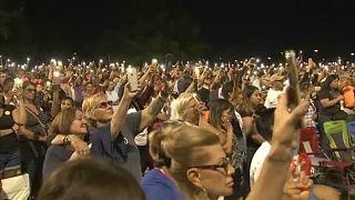Vigilia por el tiroteo masivo de este sábado en el Paso, en EEUU