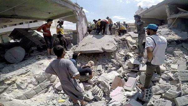 آتش بس نقض شد؛ از سرگیری حملات ارتش روسیه و سوریه به ادلب