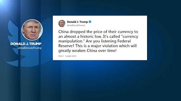 Trump devizamanipulációval vádolja Kínát