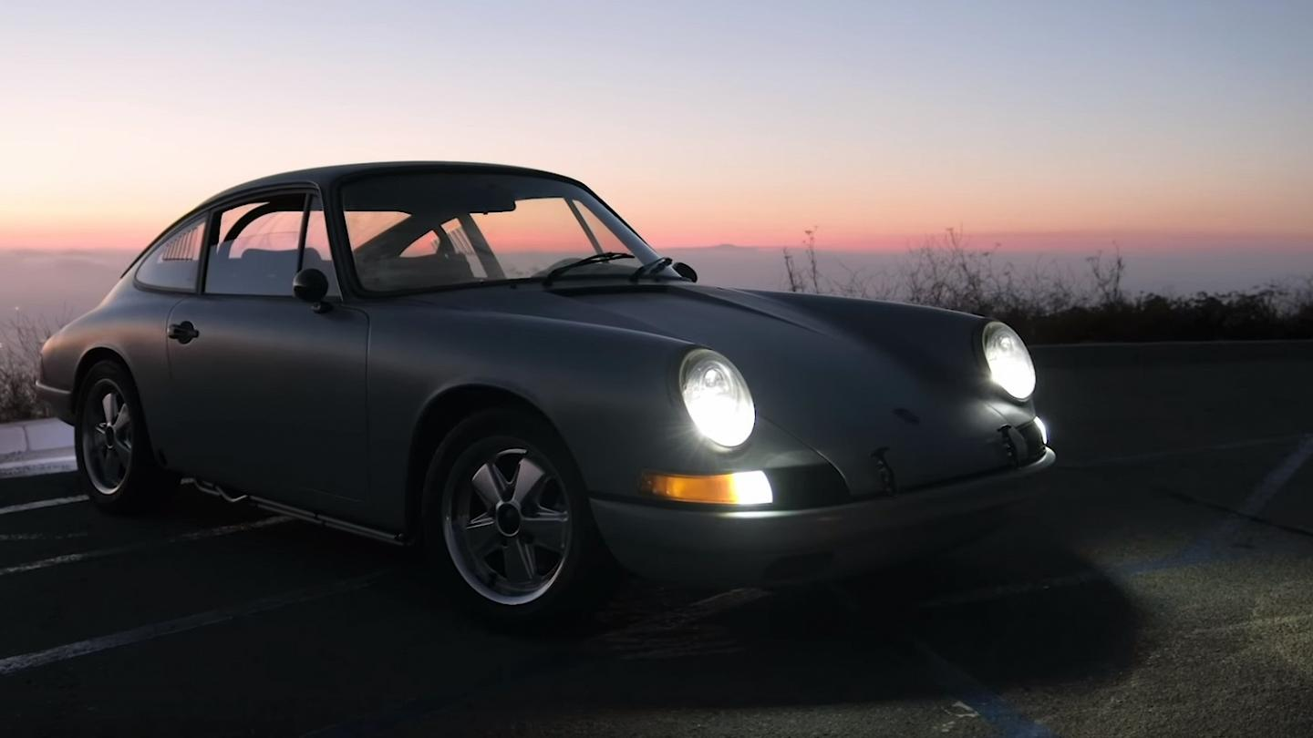 Tesla Run Porsche 912 Proves Vintage Cars Can Be Converted To Electric Living
