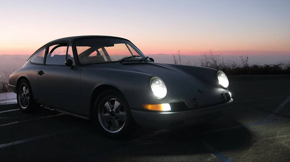 Tesla-run Porsche 912 proves vintage cars can be converted