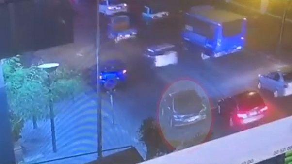 شاهد: فيديو يصور لحظات وقوع انفجار السيارة المفخخة في القاهرة
