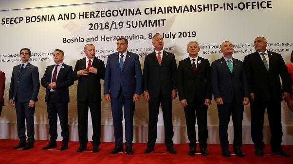 Bosna-Hersek Temmuz başında bölgesel işbirliği toplantısına ev sahipliği yaparken Türkiye'yi Cumhurbaşkanı Erdoğan temsil etti