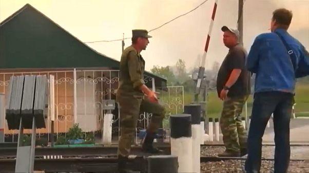 Evacuación masiva en Siberia tras la explosión de un arsenal