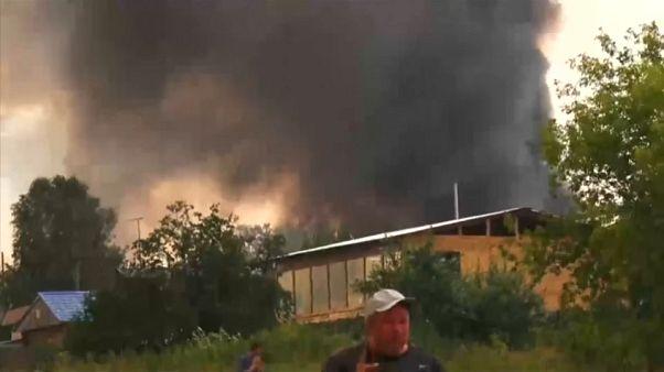Siberia: esplode un deposito d'artiglieria, 15mila evacuati