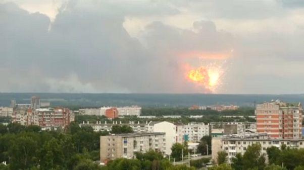 Szibéria: levegőbe repült egy lőszerraktár - eloltották, de még veszélyes