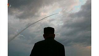Νέα εκτόξευση πυραύλων από την Β. Κορέα - Δεν θα «ενεργήσουν υπερβολικά» οι ΗΠΑ