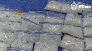 شاهد: شرطة الحدود الأسترالية تصادر 200 كيلوغرام من المخدرات