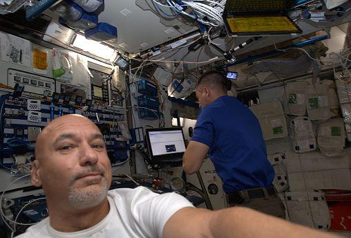 Halló Föld! Itt az Euronews űrtudósítója
