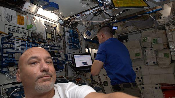 ESA astronotu Parmitano'nun Uluslararası Uzay İstasyonu'ndan ilk görüntüleri