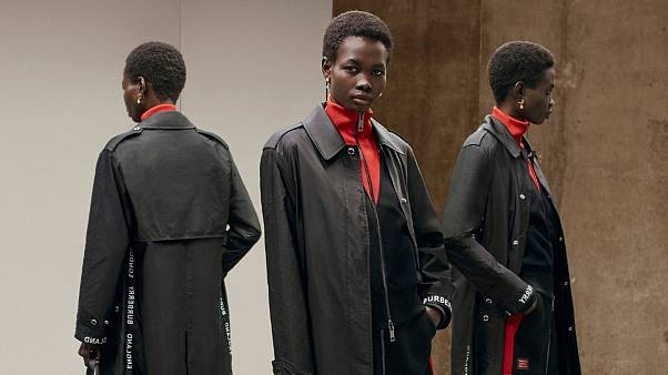 Burberry unveils coat collection made from fabric scraps and fishing nets