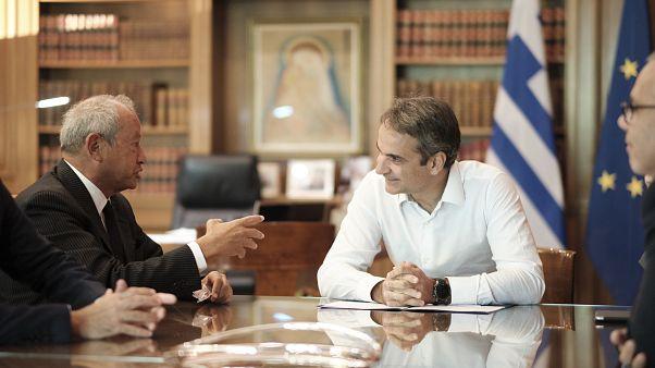 Συνάντηση για επενδύσεις Μητσοτάκη-Sawiris στο Μαξίμου