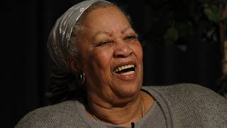Toni Morrison lecture at West Point Military Academy in March, 2013.