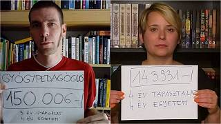 Hungarian teachers take to Instagram to protest pay