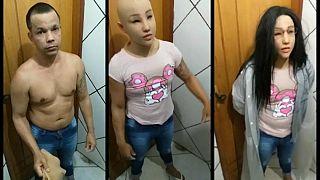 Brezilya'da kadın kılığında hapishaneden kaçmaya çalışırken yakalanan mahkum kendini astı