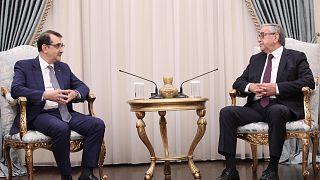 Στα κατεχόμενα ο Ντονμέζ - Συναντήσεις με Ακιντζί, Τατάρ