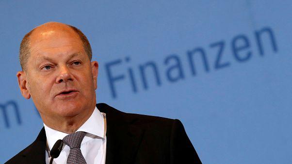 Il ministro delle Finanze tedesco, Olaf Scholz. (Berlino, 9.5.2019).