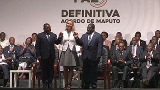 Gobierno y oposición firman un acuerdo de paz en Mozambique