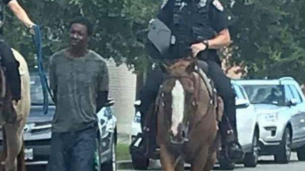 Teksas polisi kölelik dönemini anımsatan uygulama için özür diledi