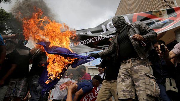شاهد: احتجاجات ضد رئيس هندوراس عقب مزاعم عن صلته بعصابات المخدرات