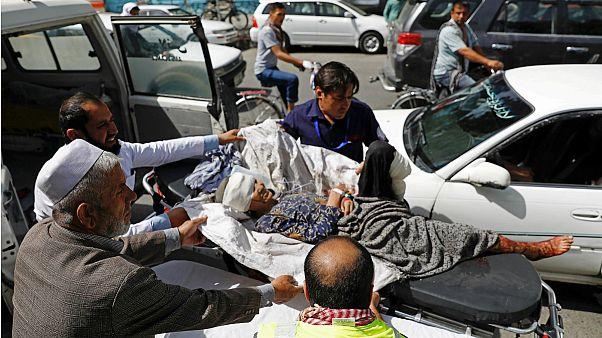 ۱۴ کشته و ۱۴۵ زخمی در انفجار انتحاری در غرب کابل