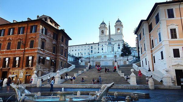 الأدراج الإسبانية في روما