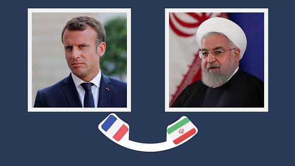 فرانسه خبر دعوت ماکرون از روحانی برای شرکت در نشست گروه ۷ را تکذیب کرد