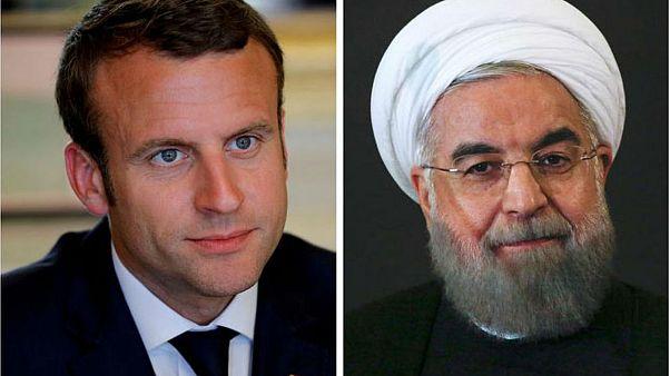 Fransa Macron'un Ruhani'yi G7 zirvesine davet ettiği iddialarını yalanladı