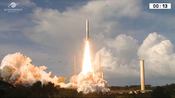 EDRS launches in French Guiana