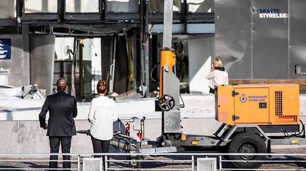 انفجار يهز مقر وكالة الضرائب في كوبنهاغن