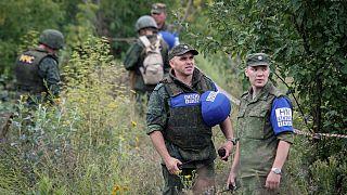 زلنسکی پس از کشته شدن چهار سرباز از پوتین خواست به حمایت از شورشیان اوکراین پایان دهد