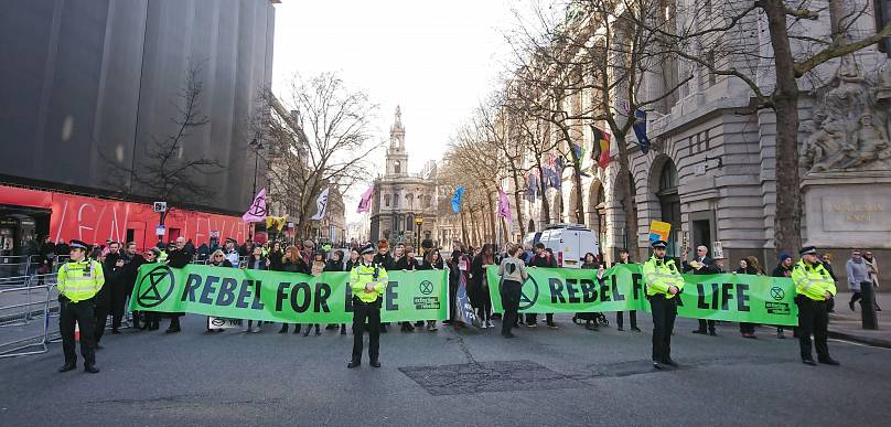 © Jamie Lowe/Extinction Rebellion