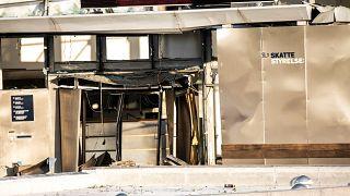 انفجار در ساختمان اداره مالیات کپنهاگ یک زخمی برجای گذاشت