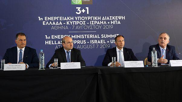 Συνέντευξη Τύπου για  τα συμπεράσματα της 1ης Ενεργειακής Υπουργικής Διάσκεψης