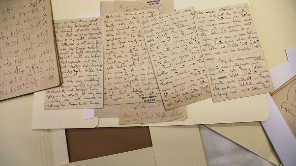 مجموعة من كتابات فرانز كافكا في إسرائيل