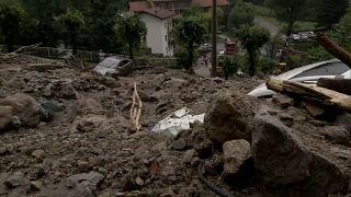 Италия: дожди, наводнения, оползни