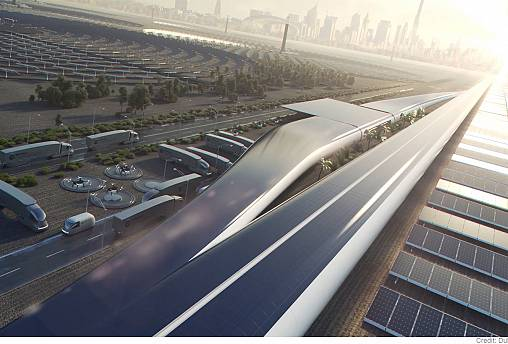 """تعرف على قطارات """"هايبرلوب""""... دبي تريد أن تكون أول مستخدميها"""