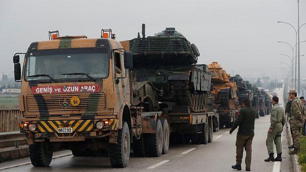 """تركيا تقول إن خططها للانتشار العسكري بسوريا اكتملت والمحادثات مع الأمريكيين كانت """"بناءة"""""""