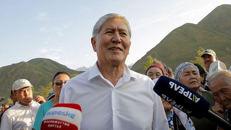 Eski Kırgızistan cumhurbaşkanının evine polis baskını: Çatışmada yaralananlar var