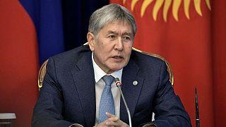 پلیس قرقیزستان به منزل مسکونی رئیس جمهوری پیشین این کشور یورش برد