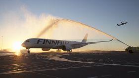 Finnair brings low carbon biofuel to long haul flights