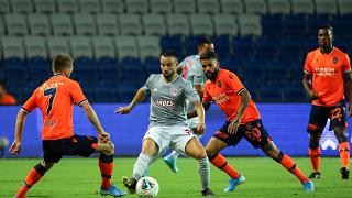 Medipol Başakşehir, UEFA Şampiyonlar Ligi 3. eleme turu ilk maçında Yunanistan temsilcisi Olympiakos ile 3. İstanbul Başakşehir Fatih Terim Stadı'nda karşılaştı