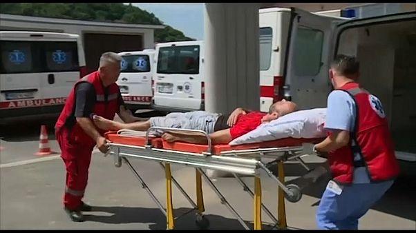 إصابة 18 مهاجرا من العراق وباكستان أثناء محاولتهم عبور حدود البوسنة مع كرواتيا