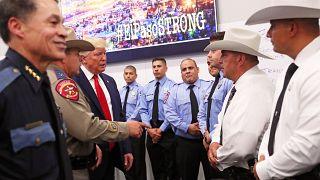 Donald Trump rencontre les forces de l'ordre à El Paso, au Texas