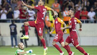 Süper Kupa'nın sahibi Akhisar'ı tek golle geçen Galatasaray