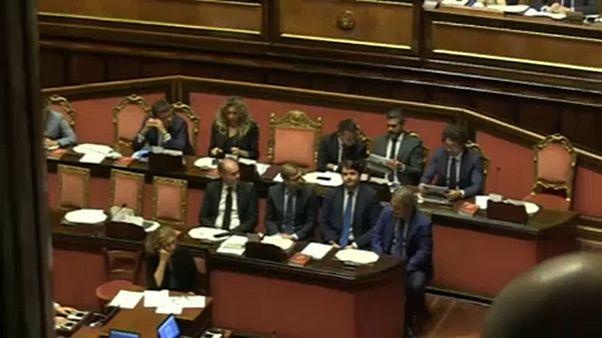 Töréspont az olasz koalícióban
