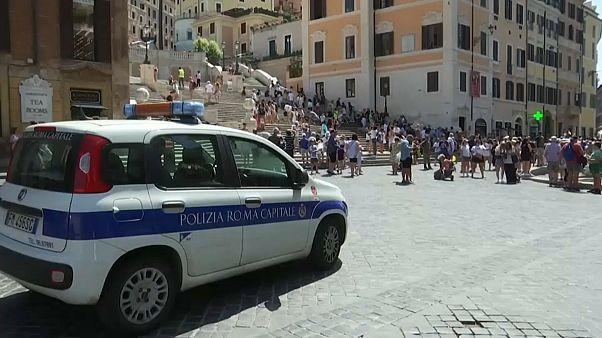 Rom: Kein Sitzplatz für Touristen auf Spanischer Treppe