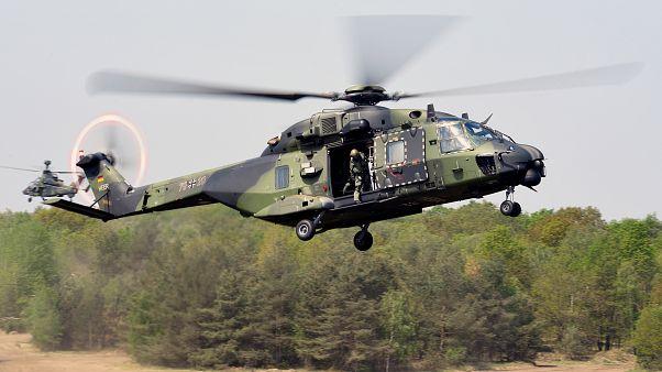 ألمانيا تضع حدا لتشغيل طائرات تايغر الهليكوبتر بسبب خطورتها